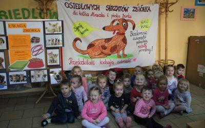 Podziękowanie za okazane serce dla zwierząt ze Średzkiego Schroniska