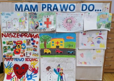 """Konkurs wewnątrz przedszkolny ,,Prawa Dziecka"""""""