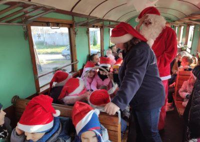 W poszukiwaniu Świętego Mikołaja – czyli przejazd ŚREDZKĄ  Kolejką Wąskotorową