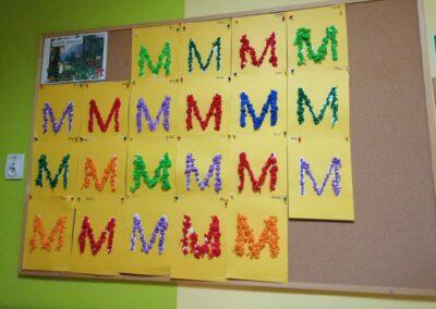 Litera M – jak mama
