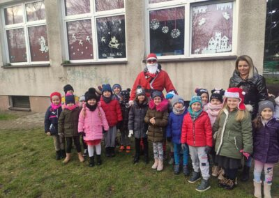 Odwiedził nas Mikołaj w przedszkolnym ogrodzie