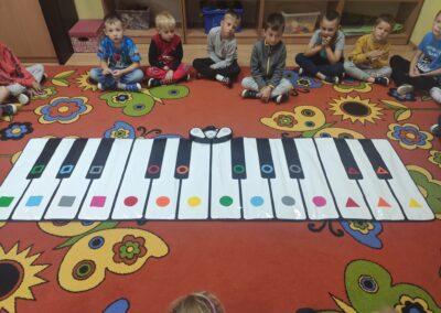 Ćwiczenia na Color Piano