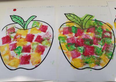 Jabłuszko kolorowe